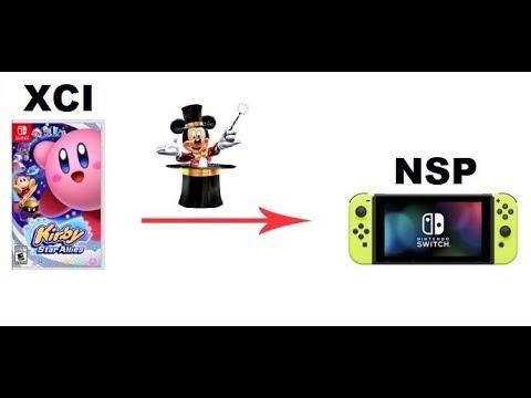Como Converter jogos XCI em jogos NSP usando o Programa 4nxci