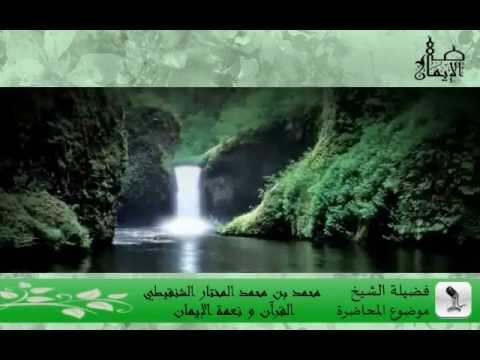 الشيخ محمد المختار الشنقيطي - القرآن و نعمة الإيمان