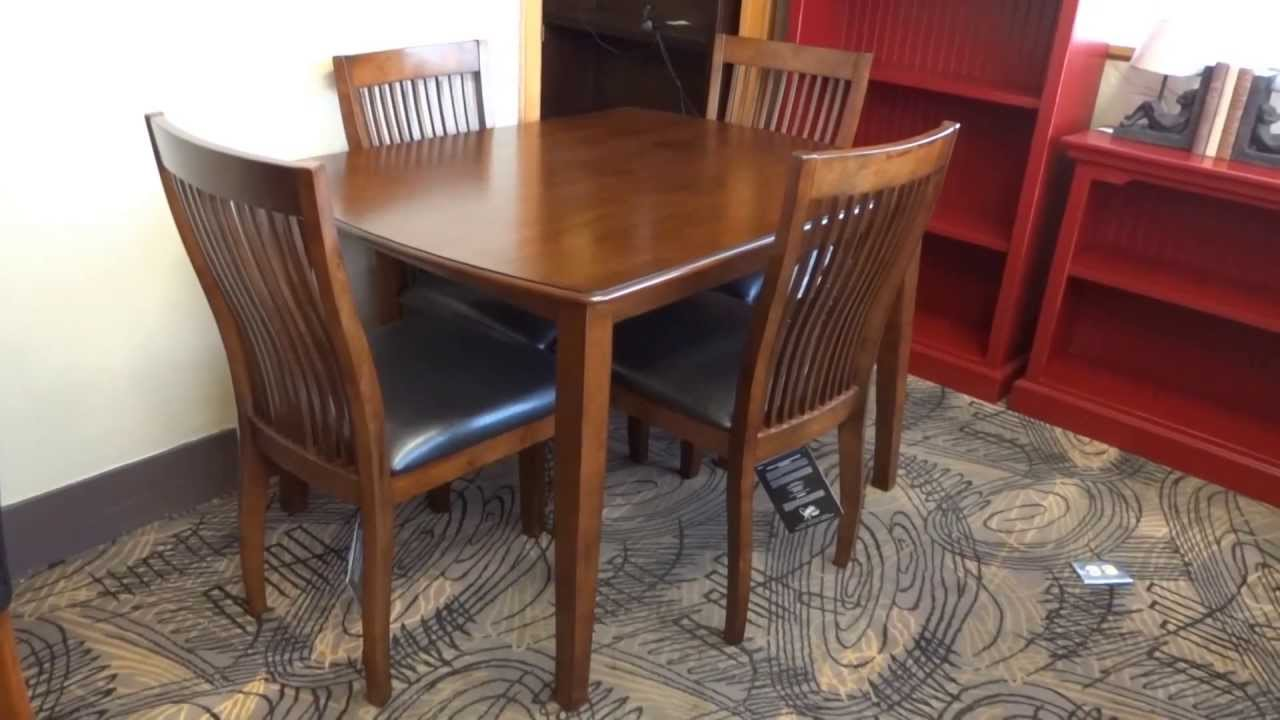 Ashley Furniture Stuman Dining Table Set D293 Review