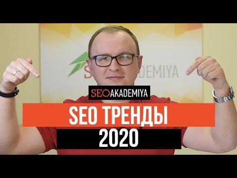 SEO тренды 2020. Академия SEO - (Павел Шульга)