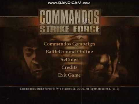 Commandos Strike Force BEST CHEAT!!!!!!! JUST TYPE TRUCO