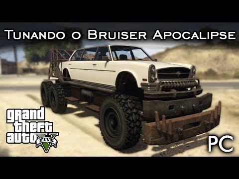 Tunando o Bruiser APOCALIPSE - Limousine MAD MAX!   GTA V - PC [PT-BR]