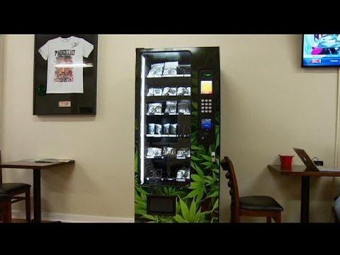 Un distributeur de marijuana installé à Vancouver