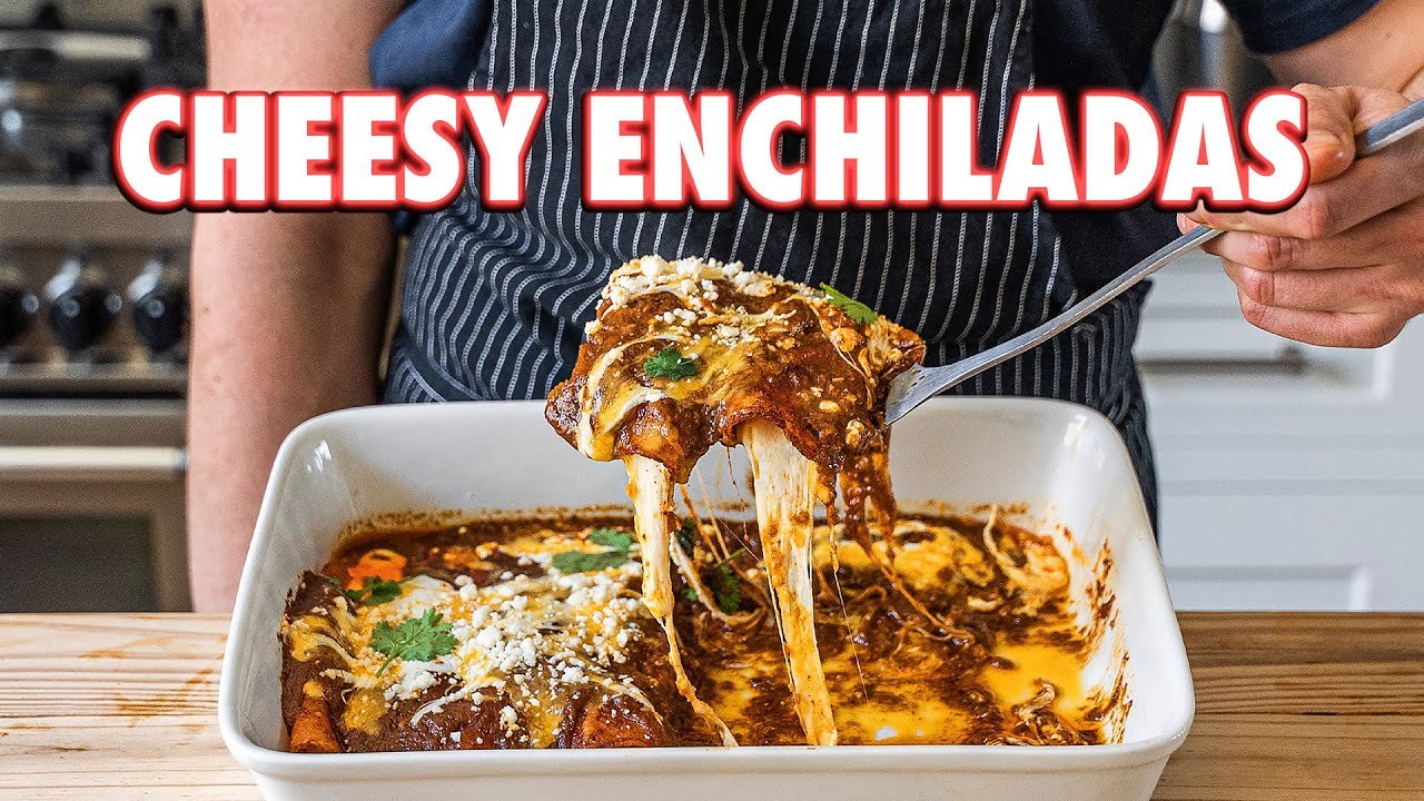Perfect Cheesiest Enchiladas