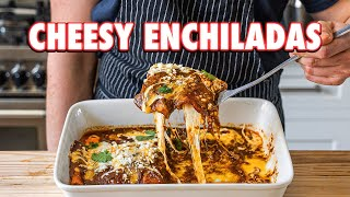 Perfect Cheesiest Homemade Enchiladas (2 Ways)