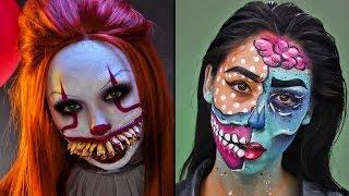 Maquillaje de Pennywise y Más - Maquillaje para un Halloween Terrorífico | Blossom Español