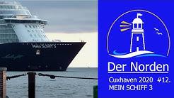 🔴  Cuxhaven 2020 #12  MEIN SCHIFF 3