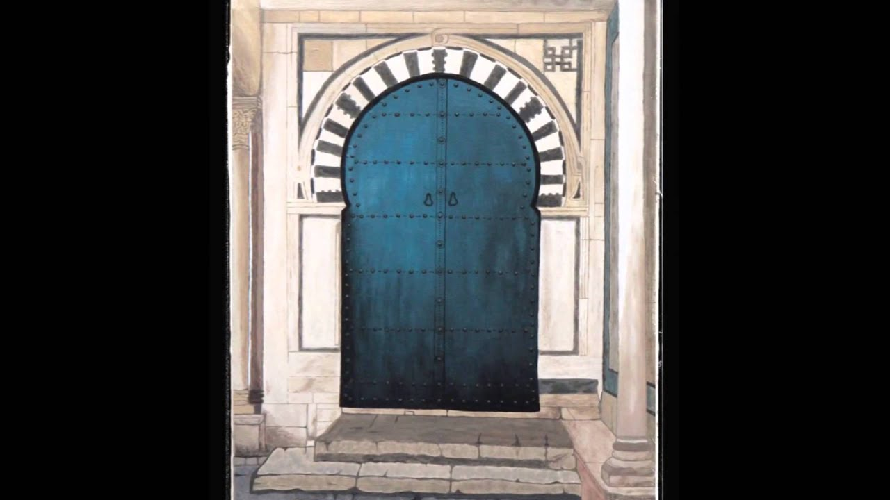 peintures d 39 une porte de tunisie youtube. Black Bedroom Furniture Sets. Home Design Ideas