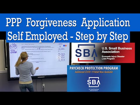 how-to-fill-out-ppp-loan-forgiveness-application-for-self-employed,-1099,-freelancers,-contractors.