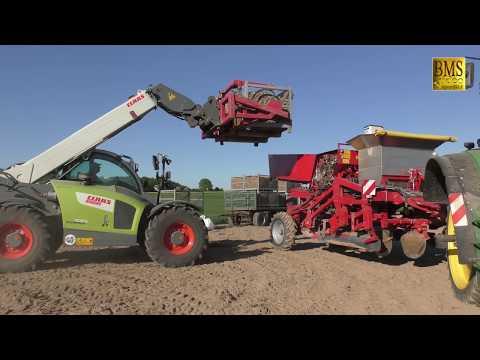 Kartoffeln pflanzen - 3 Arbeitsschritte - Grimme GB 330, Bed Former, Separator & Potato Planter