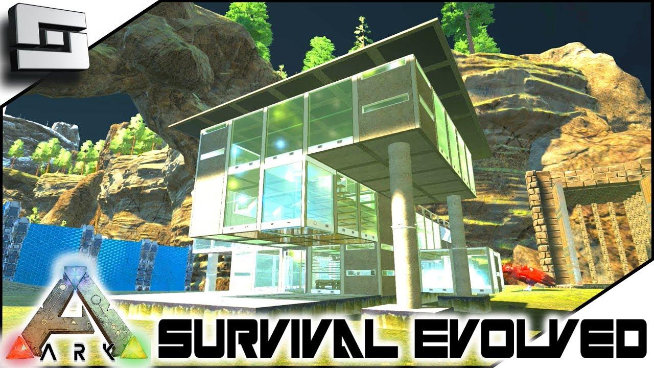 Ark survival evolved modern house building s2e7 modded ark extinction core