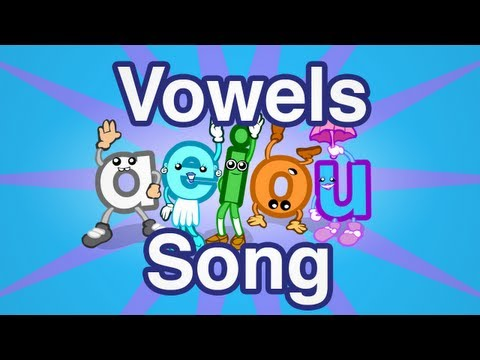 Vowels Song  Preschool Prep Company
