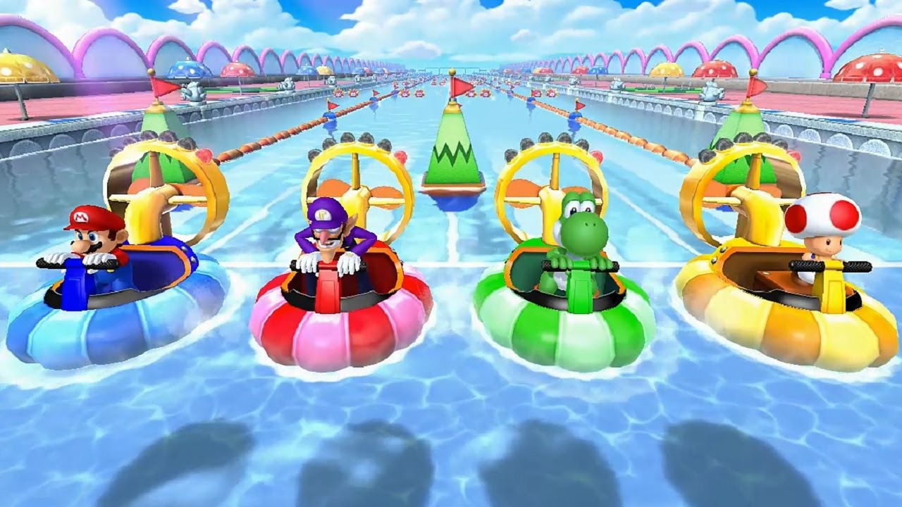 Mario Party 10 All Free For All Minigames Youtube