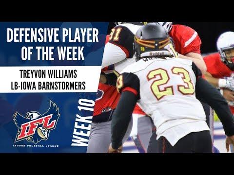 IFL Week 10 Defensive Player of the Week: Treyvon Williams