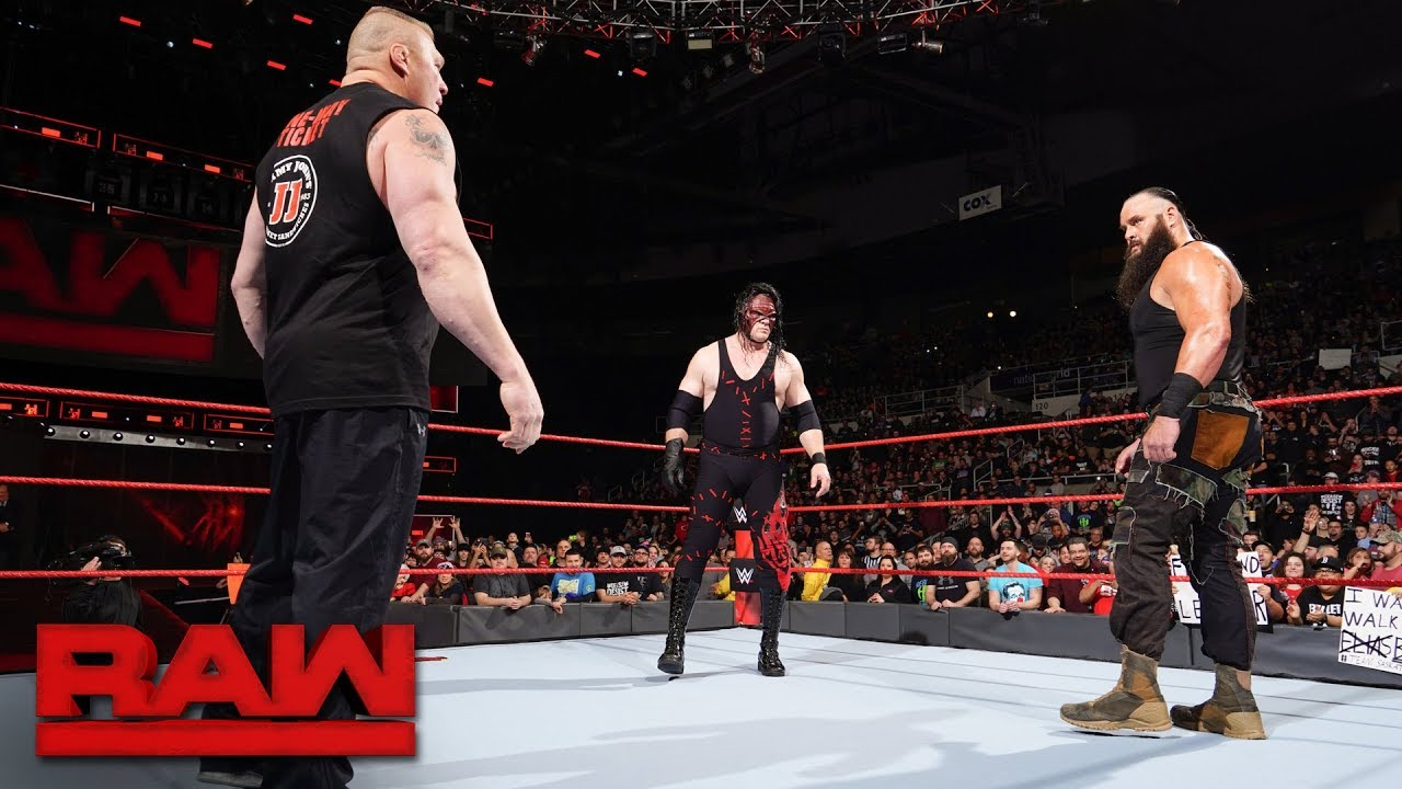 Download Brock Lesnar's Royal Rumble challengers revealed: Raw, Dec. 18, 2017