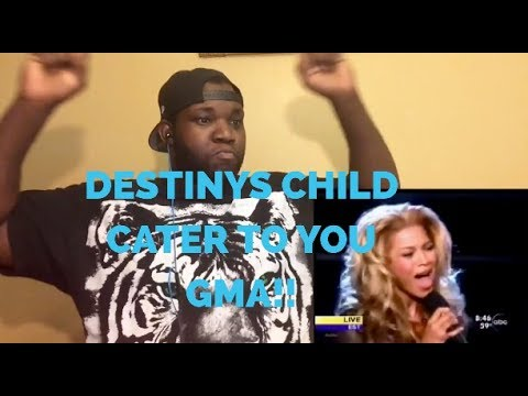 Destiny's Child- Cater To You Live @GMA (Reaction)