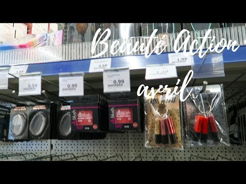 ACTION SHOPPING BEAUTÉ MAQUILLAGE BAIN PARFUMS CHEVEUX ULTRA COMPLET 2 AVRIL 2018