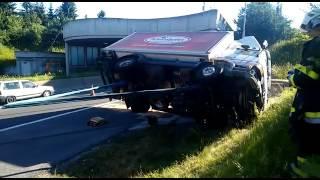 Lkw Unfall A2 Bettlerkreuz