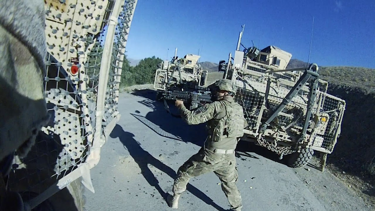 Afghanistan Food Fight Insane Firefight