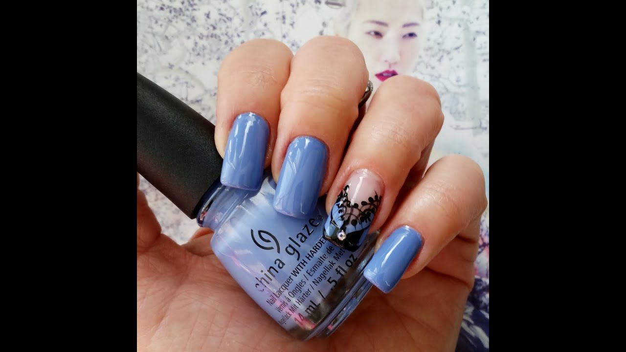 China glaze nail art youtube prinsesfo Images