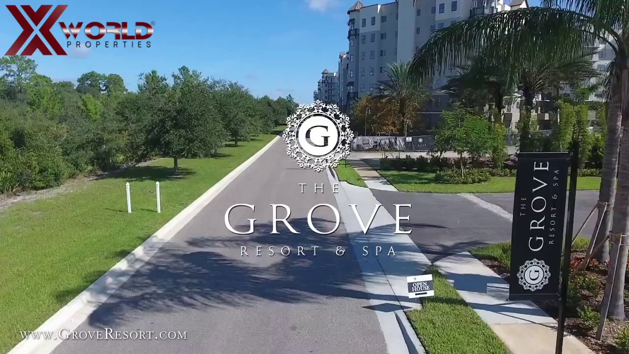 The Grove Resort Drone by Xworld Properties