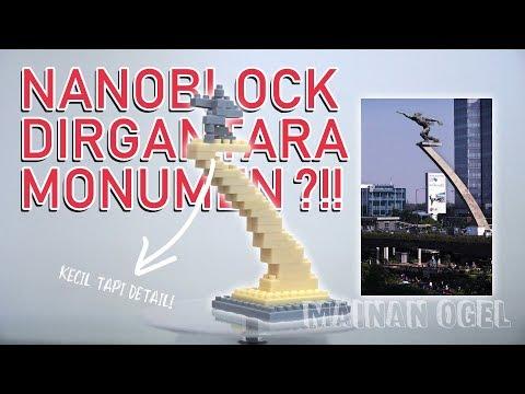 Dirgantara Monument By Pocket Brickz Emco [REVIEW]
