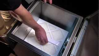 Fume Extractor & Industrial Air Filtration System FA2 by Fumex - how to  change filter - YouTube