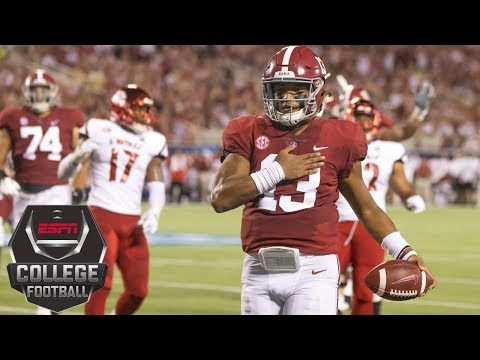 College Football Highlights: Tua Tagovailoa, No. 1 Alabama roll against Louisville | ESPN