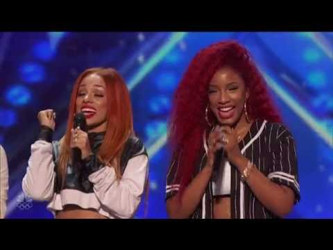 "America's Got Talent-Good Girl-singing En Vogue ""Don't Let Go""-HD"