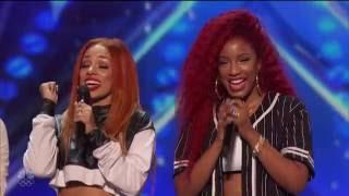 """America's Got Talent-Good Girl-singing En Vogue """"Don't Let Go""""-HD"""