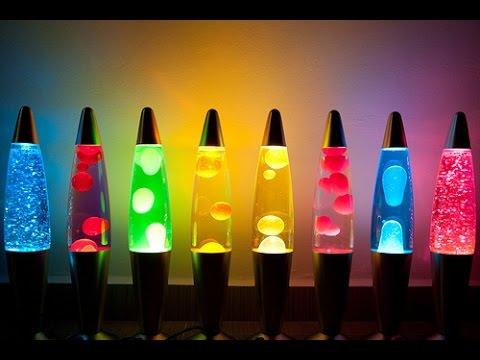 Cara Membuat Lampu Lava - Lava Lamp