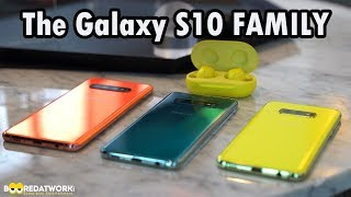 Samsung Galaxy S10 vs. S10S Plus vs. S10e!