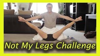 NOT MY LEGS CHALLENGE (w/ Rebecca Zamolo and MattSlays)