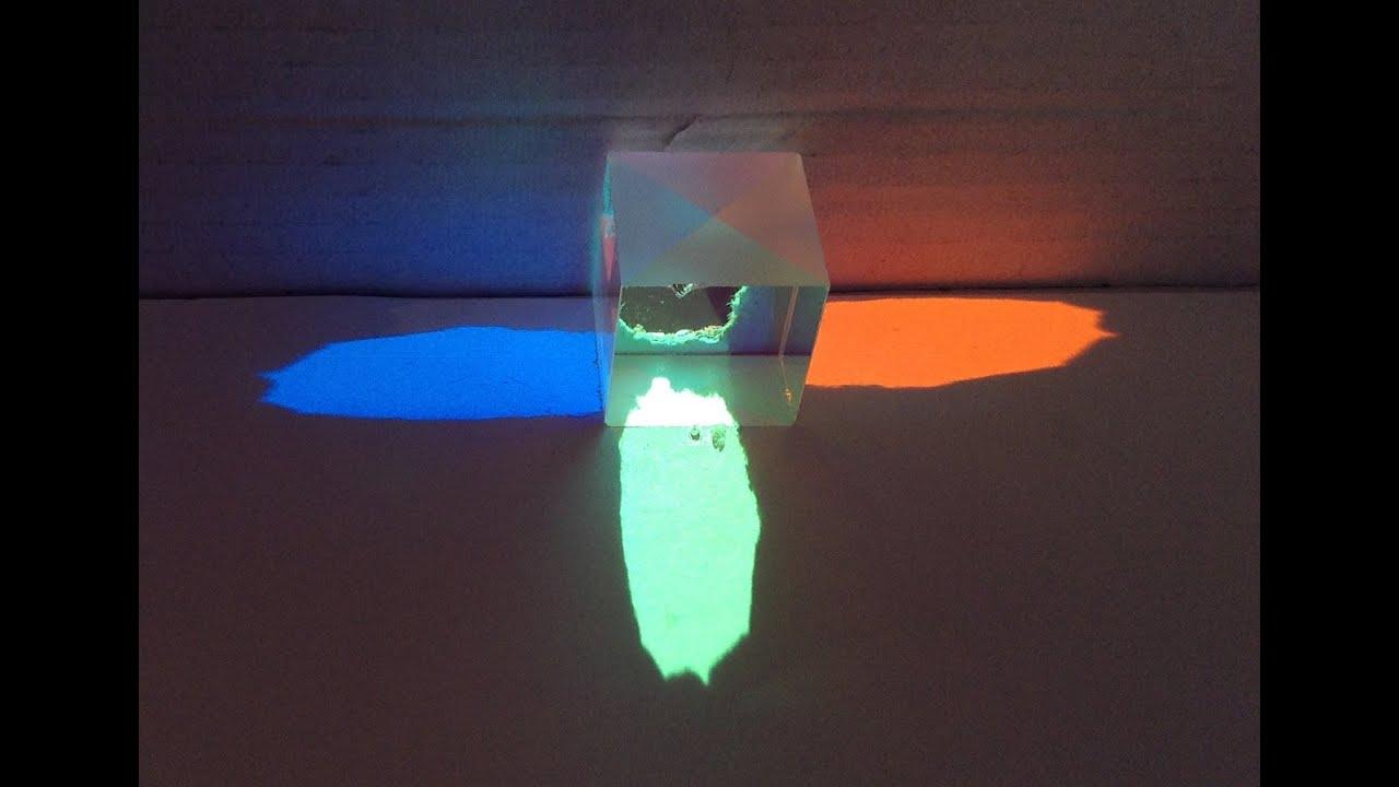 Dichroic Cube Cross Dichroic Prism X Cube Rgb Combiner