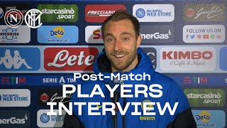 NAPOLI 1-1 INTER | ERIKSEN + BARELLA EXCLUSIVE INTERVIEWS [SUB ENG+ITA] 🎤⚫🔵