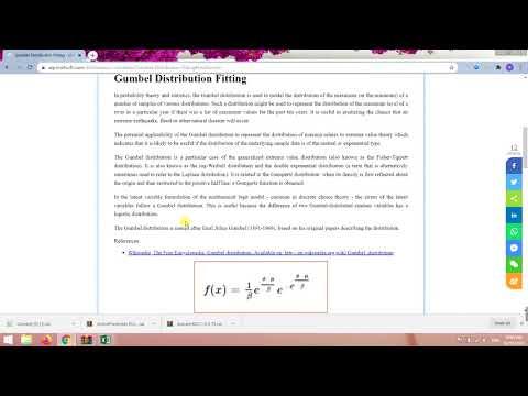 Order Statistics of the Gumbel Distribution