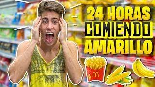 24-horas-comiendo-comida-amarilla