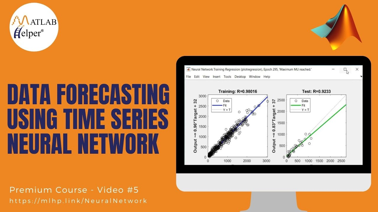 Data Forecasting Using Time SerIes Neural Network| Neural Networks Topic |  MATLAB Helper ®