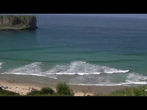 playa andrin bodyboard en asturias
