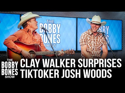 Clay Walker Surprises Tiktoker Josh Woods For Performance