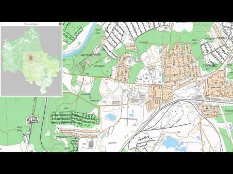 Топографическая карта Московской области для OziExplorer