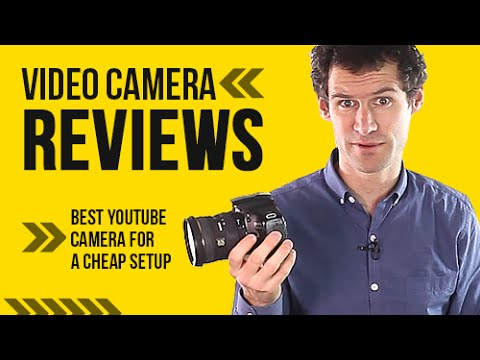 Video Camera Reviews - Best Youtube Camera for a Cheap Setup