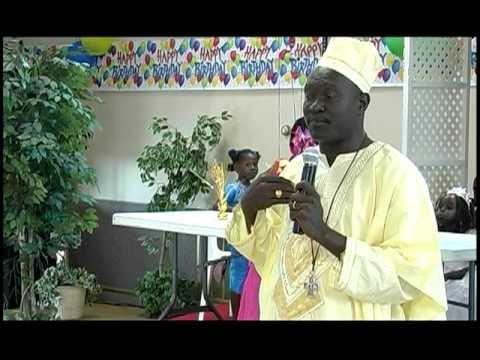 Bishop Andudu Adam Elnail of Kadugli, Sudan June 2011 Part 1 of 2