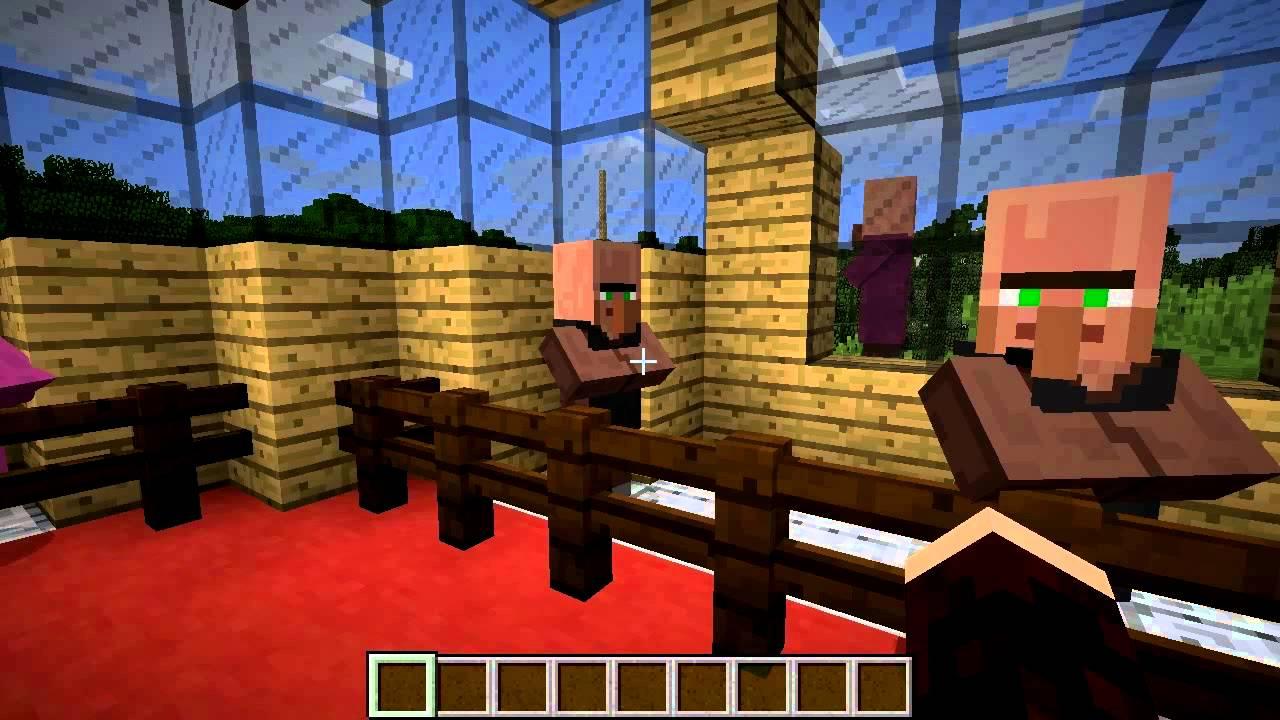 Minecraft Gameplay: Villager Types - YouTube