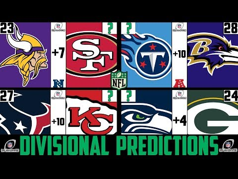 NFL Divisional Round Score Predictions 2020 (NFL DIVISIONAL ROUND PICKS AGAINST THE SPREAD 2020)
