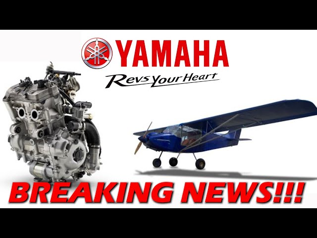 YAMAHA Partners to Build Small Aircraft!!! Press Release!