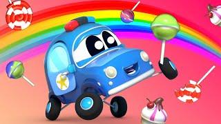 Малыши Машинки -  Счастливый клевер, радуга и сокровище! - Обучающие мультфильмы с машинками