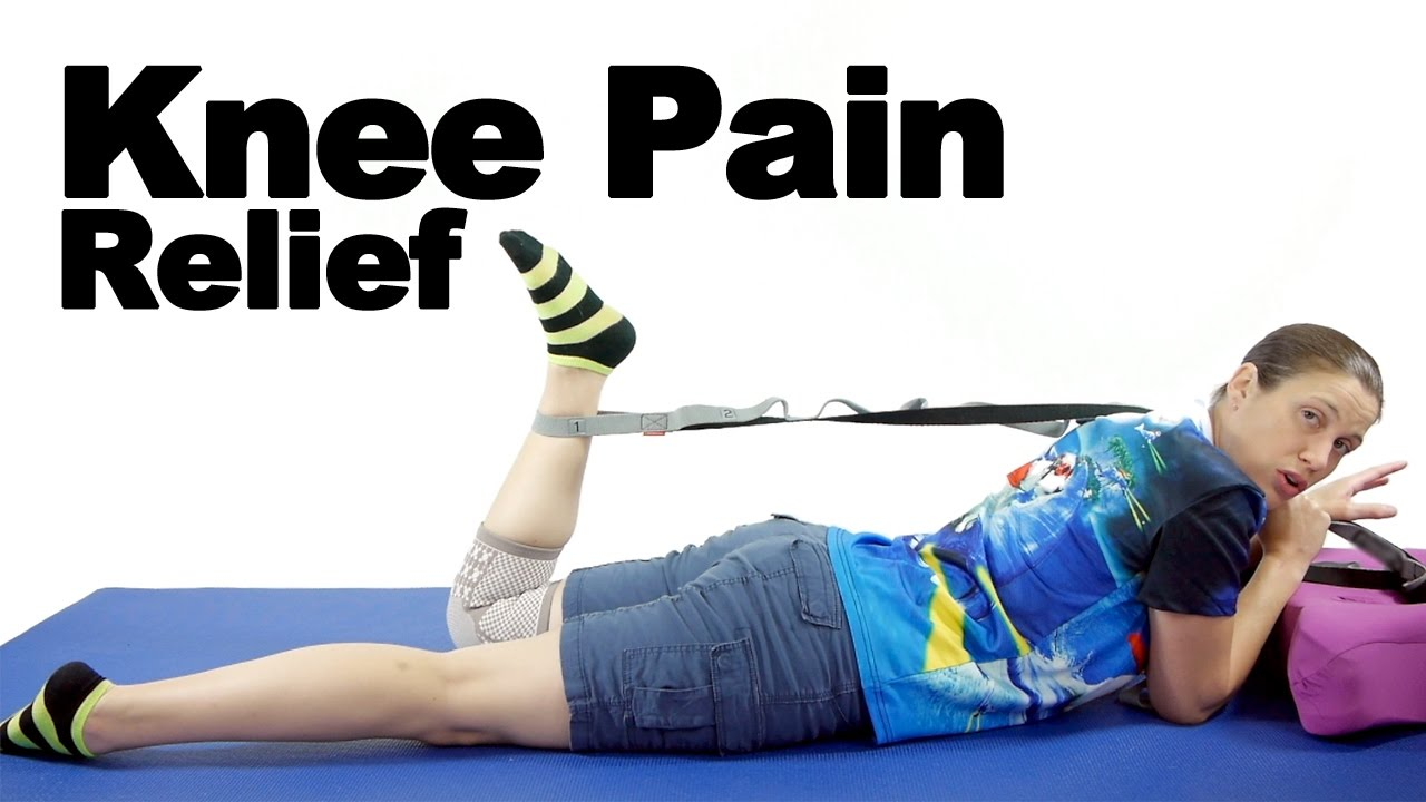Knee Pain Relief Exercises u0026 Stretches  Ask Doctor Jo