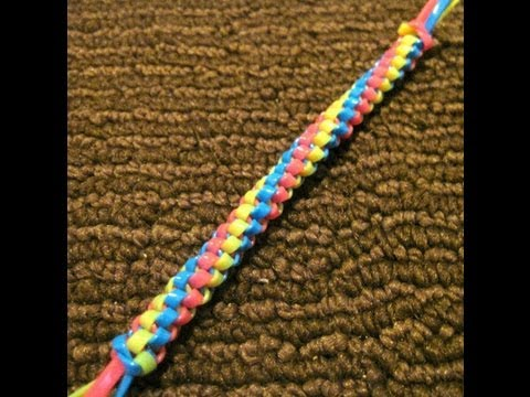 Twisted Triangle Stitch - Starting/Doing The Stitch