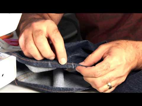 Hemming Jeans - Tips on using an Entry Level Home Sewing Machine
